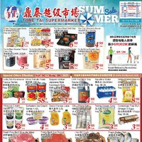 Tone Tai Supermarket - Weekly Specials Flyer