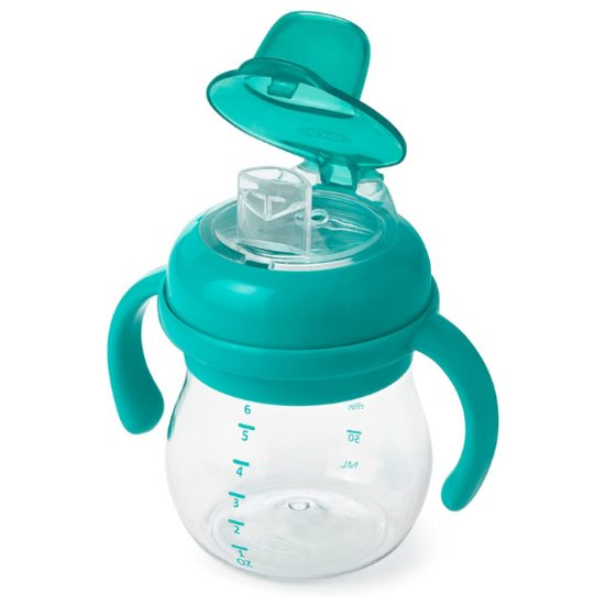 8. Honourable Mention: OXO Tot Transitions Soft Spout Sippy Cup