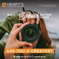 Henry's - Back To School Buying Guide Flyer