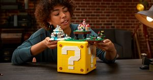 [] LEGO's New Super Mario 64 Question Mark Block