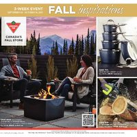 Canadian Tire - Fall Inspirations Flyer