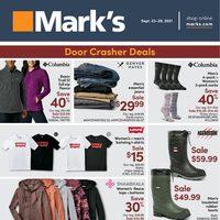 Mark's - Weekly Deals Flyer