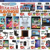 Factory Direct - Huge Fall Savings! Flyer