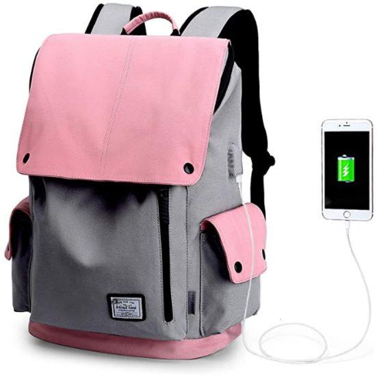6. Best Fashionable: WindTook Laptop Backpack