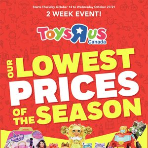 [Valid Thu Oct 14 — Wed Oct 27] Toys R Us