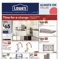 Lowe's - Weekly Deals Flyer