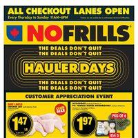 No Frills - Weekly Savings - Hauler Days Flyer
