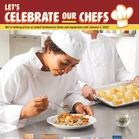 Wholesale Club - Let's Celebrate Our Chefs Flyer