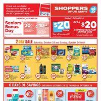 Shoppers Drug Mart - 6 Days of Savings Flyer