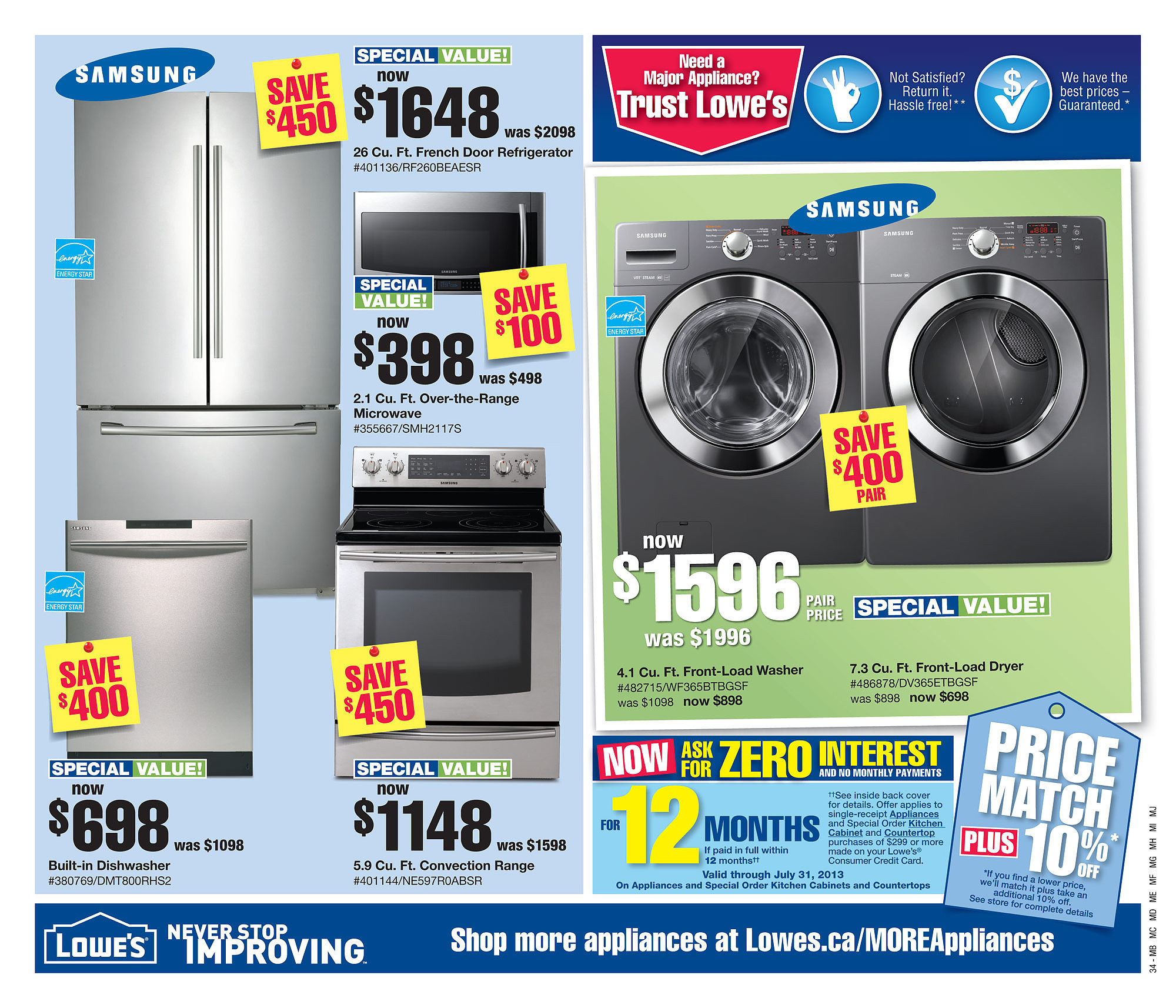 Lowe's Weekly Flyer - Weekly Flyer - May 22 – 29