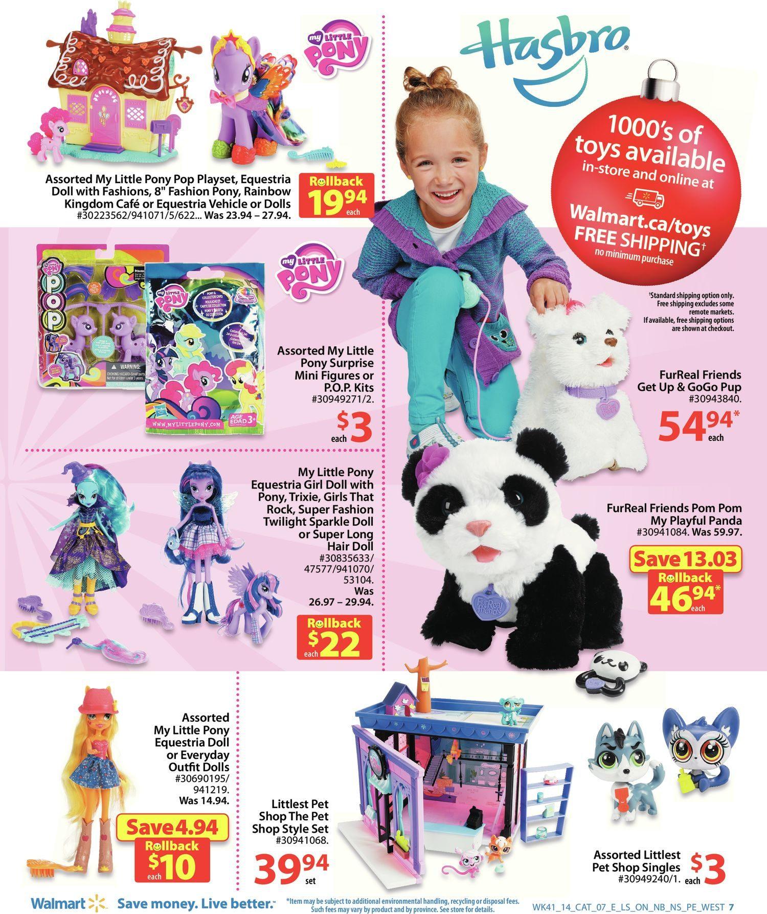 c388f342cfa Walmart Weekly Flyer - Holiday Play Book - Nov 6 – 19 - RedFlagDeals.com