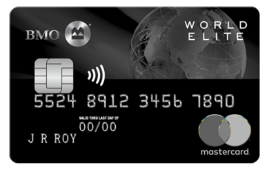 BMO® Rewards World Elite™ MasterCard®*