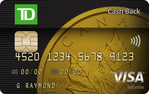 TD® Cash Back Visa Infinite Card