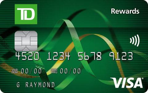 TD® Rewards Visa* Card