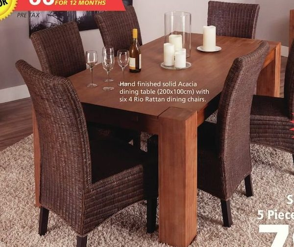 JYSK Samson Rio Dining Set 5 Piece