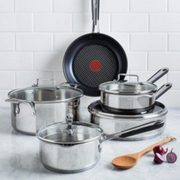 Kitchen Stuff Plus Red Hot Deals: T-Fal Jamie Oliver 9-Pc. Cookware $120, J.A. Henckels International 12-Pc. Knife Set $175 + More