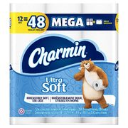 Amazon.ca: Charmin Ultra Soft Toilet Paper, 12 Mega Rolls $8.98 (regularly $13.98) with Coupon