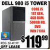 Dell 980 i5 Tower - $119.99