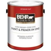 BEHR Premium Plus Interior Flat Paint & Primer In One - $38.97
