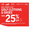 Puma Men's Women's & Kids' Golf Clothing & Shoes - 25% off