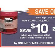 Home Depot Behr Paint Primer Or Stain Redflagdeals Com