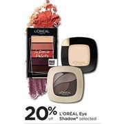L'oreal Eye Shadow - 20% off