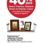 Expressions Tabletop Frames by Studio Decor - 40% off