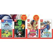 The Legend Of Zelda: Link's Awakening, Luigi's Mansion 3 Or Pokeman Sword Or Shield For Nintendo Switch  - $79.96