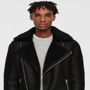 All Saints: 30% off Shearling