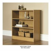 Mylex 3 Shelf Bookcase Oak, Birch Or Black - $24.99