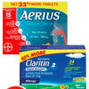 Aerius Tablets or Claritin Allergy Products - $24.99