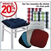 Chair Pads  - 20% off