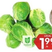 Brussels Sprouts - $1.99/lb