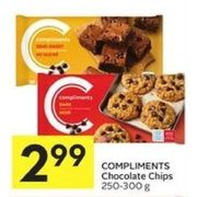 Compliments Chocolate Chips - $2.99