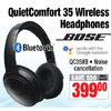 Bose QuietComfort 35 Wireless Headphones - $399.00 ($50.00 off)