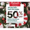 Christmas Floral & Decor  - 50% off