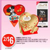 Kinder Surprise, Ferrero Rocher Valentine Chocolates Or Lindt Excellence Chocolate Bar - 2/$6.00